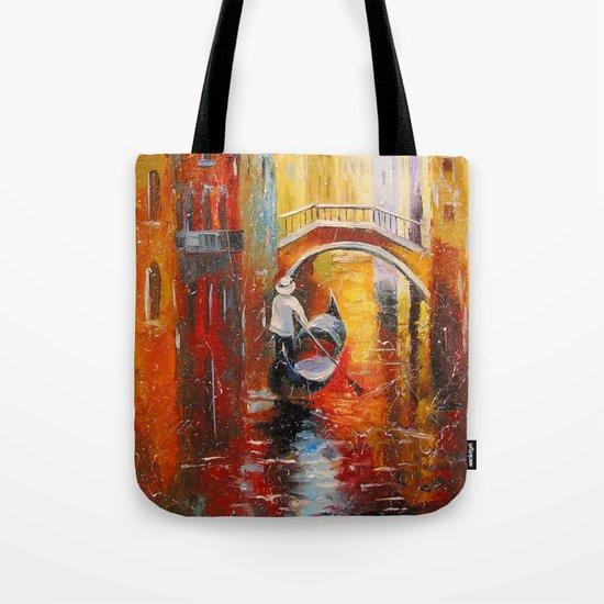 Evening in Venice Tote Bag