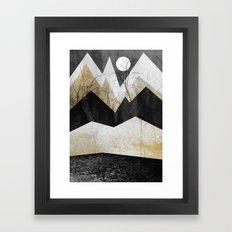 End of winter Framed Art Print