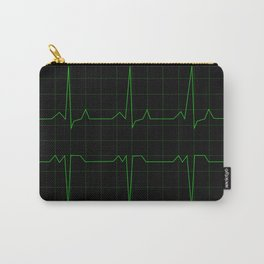 Normal Heart Rhythm Carry-All Pouch