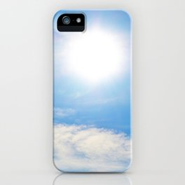Peaceful iPhone Case