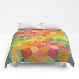 Chrysanthemum 2 Comforters