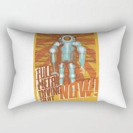 Underwater suit Rectangular Pillow
