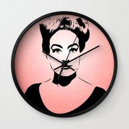 Joan Crawford | Hollywood Royalty | Pop Art Wall Clock