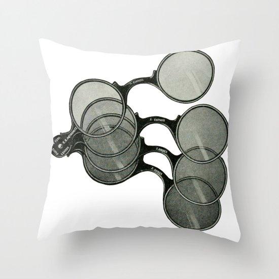 Glasses 2 Throw Pillow