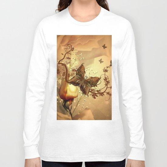 Wonderful fantasy butterflies Long Sleeve T-shirt