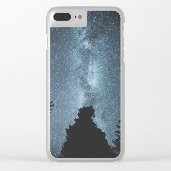 Stars over the Forest Clear iPhone Case