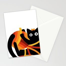 Rolling Mew Stationery Cards