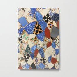 Mosaic decoration Metal Print