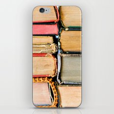 Vintage Books Stacks iPhone & iPod Skin