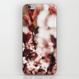 Red Leaf Blossom iPhone Skin