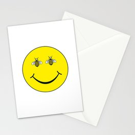 Bee Happy  - Living Hell Stationery Cards