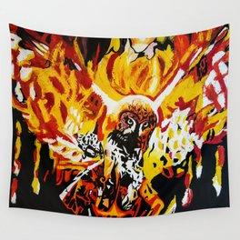 Phoenix Owl Wall Tapestry