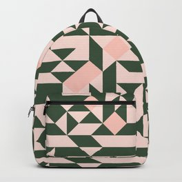 Geometric pattern pastel Backpack