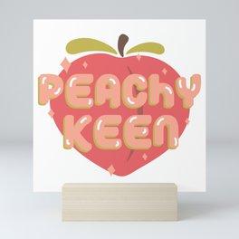 Peachy Keen Mini Art Print