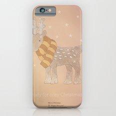 Christmas creatures- The Cozy Deer Slim Case iPhone 6s