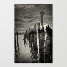 Eroded Canvas Print