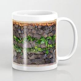 Coal and Leaves 01 Coffee Mug