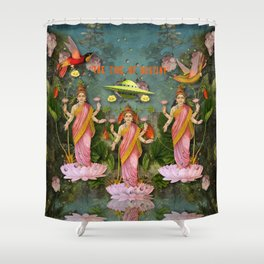tHe tiDe of dEstiNy  Shower Curtain
