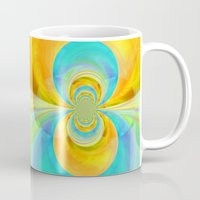 happiness Mugs featuring Happiness by lillianhibiscus