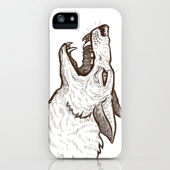 Open Mouth iPhone Case