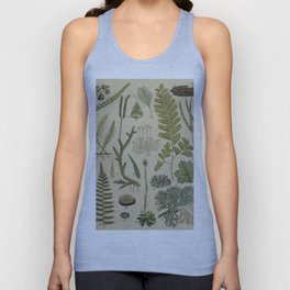 Ferns And Mosses Unisex Tank Top