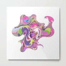 20 E=Octopuswoman Metal Print