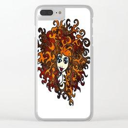 Medusa | Sea Legand Clear iPhone Case