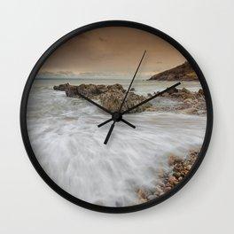 Bracelet Bay Gower Wall Clock