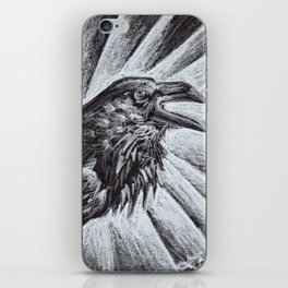 The Raven iPhone Skin