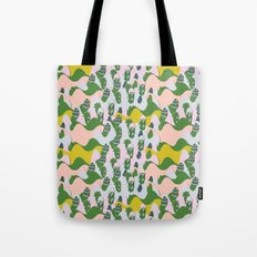 Whimsical mountains Tote Bag