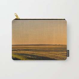 Glowing Fields, Golden Valley County, North Dakota Carry-All Pouch