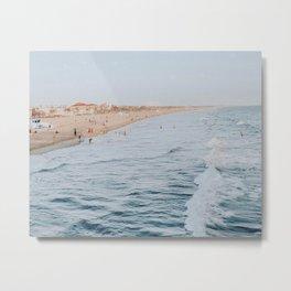 Santa Monica Beach, California Metal Print