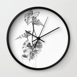 Botanic 1 Wall Clock