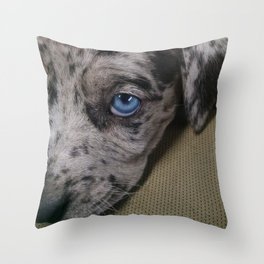 My Dixie Blue Throw Pillow