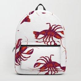 Le Lobster Rouge Backpack