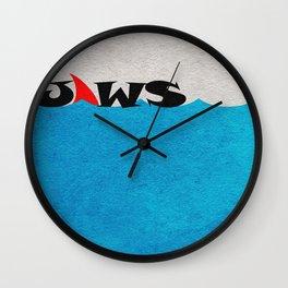 Jaws Wall Clock