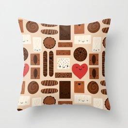 Box Full of Love Throw Pillow