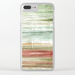 Artichoke abstract Clear iPhone Case