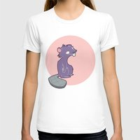 beaver T-shirts featuring Burnout Beaver by Sincerely Kat