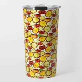 Fruit Pattern Travel Mug
