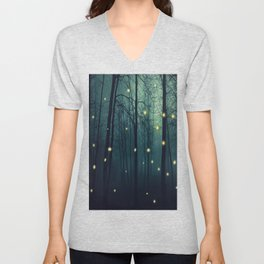 Enchanted Trees Unisex V-Neck