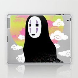 No Face and Soot Sprites Laptop & iPad Skin