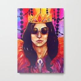 Dead King Metal Print