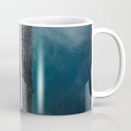 road marking top view mersea island colchester united kingdom Coffee Mug