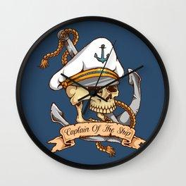 Captain of the Ship Wall Clock
