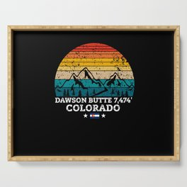 DAWSON BUTTE 7,474' Colorado Serving Tray