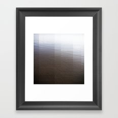 Black Sands I Framed Art Print