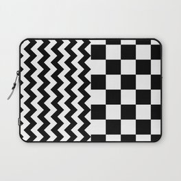BESTEST (BLACK-WHITE) Laptop Sleeve
