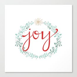 Holiday Joy Canvas Print