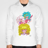 jem Hoodies featuring Misfits Jem and the Holograms by Lady Love